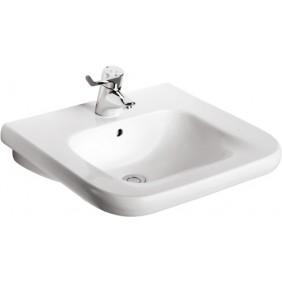 Lavabo céramique autoportant - carré - Matura 2 PORCHER