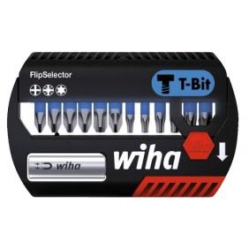 Coffret de 12 embouts T et porte-embout Flipselector WIHA