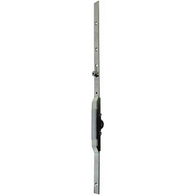 Crémone verrou sur têtière - axe à 7,5 mm - cote D fixe - Jet FERCO