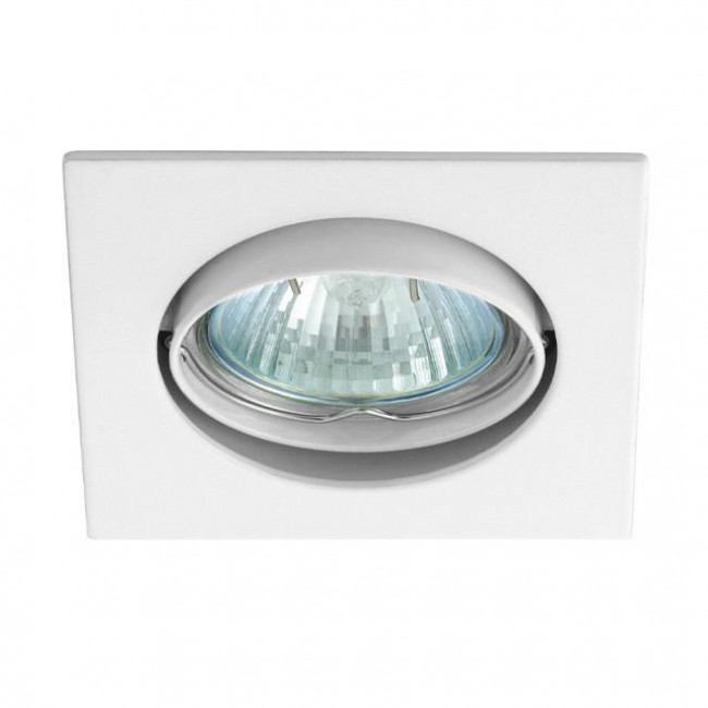 Spot halogène encastrable G10 50W Blanc - Podium Philips Bombay PHILIPS