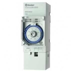 Interrupteur horaire programmable mécanique Série 12.01 FINDER