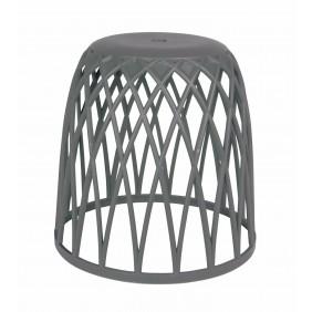 Tabouret/panier à linge design pour salle de bain - Omio WENKO
