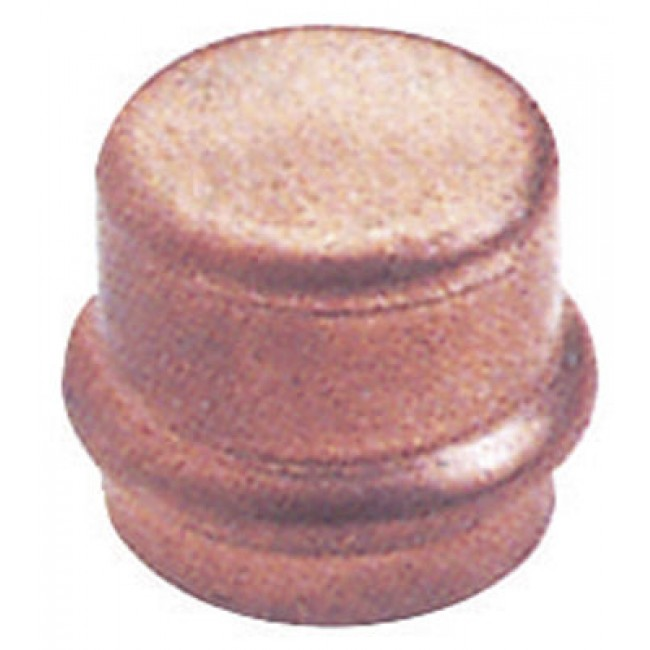 Bouchon cuivre femelle à sertir spécial Gaz VIEGA