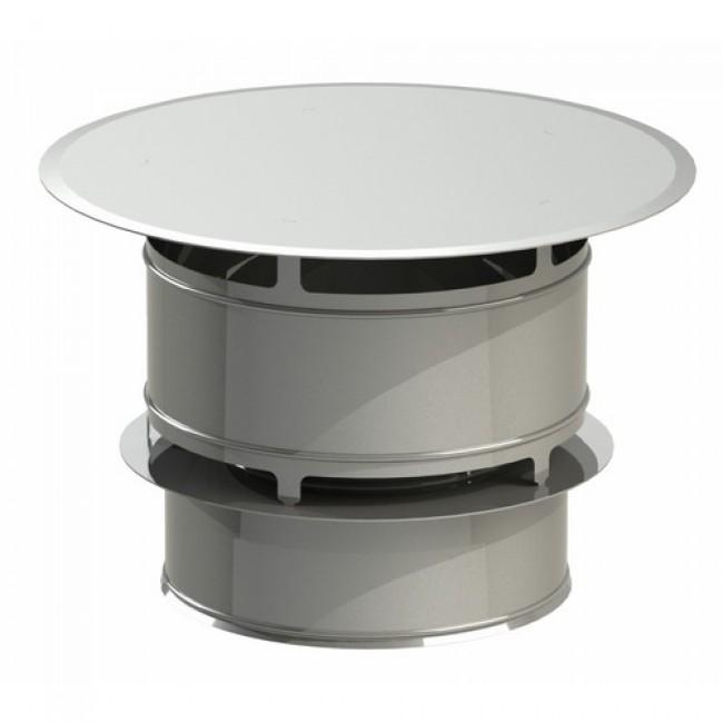 Chapeau anti-vent - Inox - avec bride de sécurité - Duoten TEN