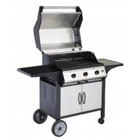 Barbecue à gaz rectangulaire 81x56,8 cm Sydney 3F ALPERK