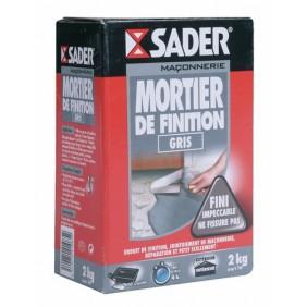 Mortier de finition gris - Boite 5 kg SADER
