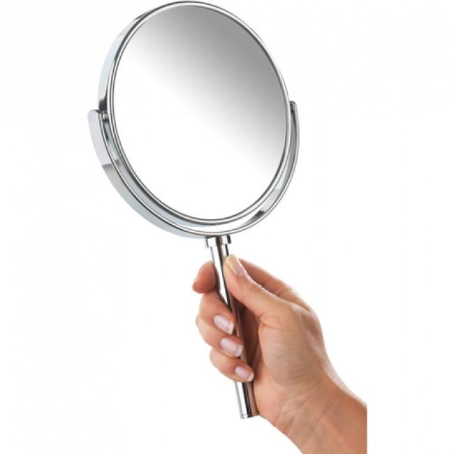 Miroir - Grossissant x3 - portatif et support mural - Power-Loc WENKO
