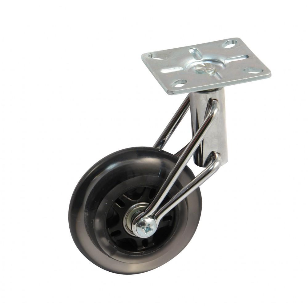 Roulette de meuble pivotante sur platine roue Meuble roulette