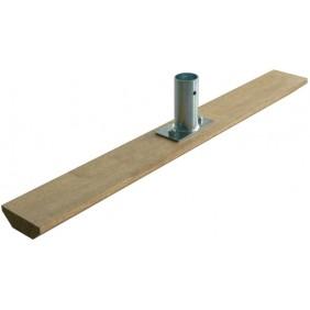 Racloir à bitume bois - 10 x 55 cm - enrobée TALIAPLAST