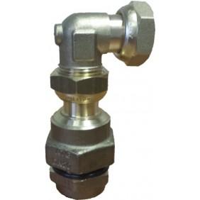 Raccord coudé - à joint plat gaz - installation gaz - FlexiClic CLESSE