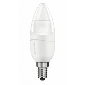 Lampe LED dimmable - flamme - culot E14 - 6 watts - Candlelight LEDON