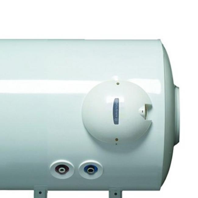 Chauffe-eau électrique 100L horizontal bas D560 stéatite mono - 3010119 Fleck