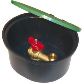 Bouche d'arrosage avec robinet à sphère - BA20 REGIPLAST