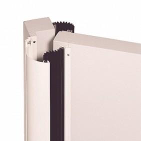 Anti pince-doigts pour porte intérieure bois - Elegance RIVINOX