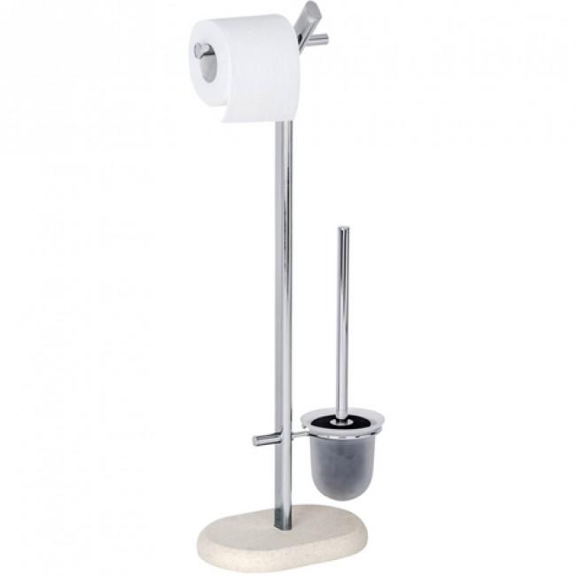 Ensemble WC sur pied - Puro - Chrome WENKO