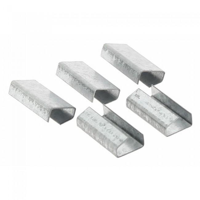 Chape ouverte 13 mm pour feuillard polypropylène - 2000 pièces CORDERIE MESNARD