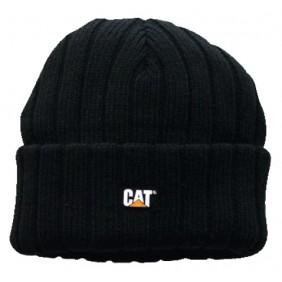 Bonnet - 100% acrylique - avec logo CAT - noir - C443 Caterpillar