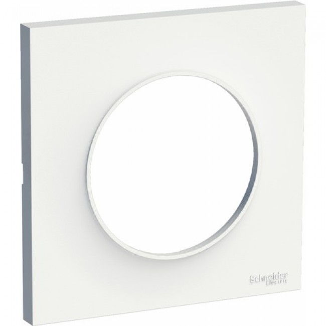 Plaque - Blanc - Odace SCHNEIDER