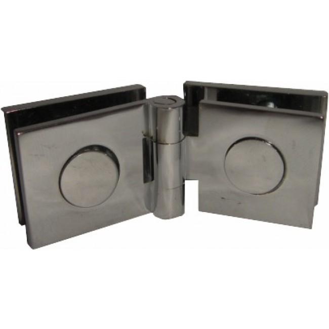 Charnières à contre-plaque verre/verre-25x30 mm MOD