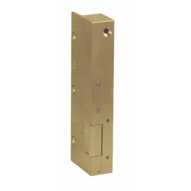 Gâche électrique Beugnot 12 à clé à vis pour porte métallique MÉTALUX