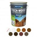Lasure - acrylique polyuréthane - satiné - anti-UV - Tech-Wood BLANCHON