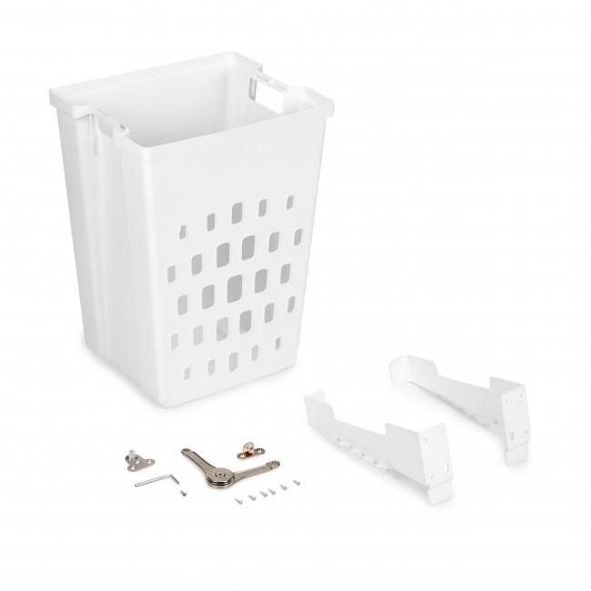 Panier à linge inclinable - fixation sur porte - Laundry EMUCA
