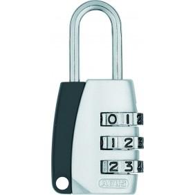 Cadenas à code 3 chiffres, type 155/20, anse acier cémenté ABUS