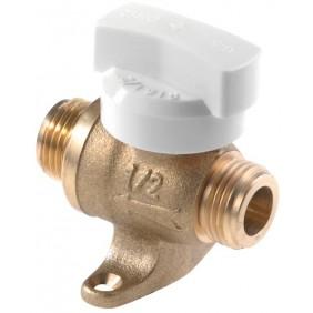Robinet droit gaz naturel - à sphère 1/4 de tour - joint plat gaz CLESSE