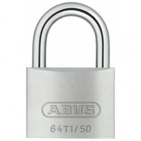 Cadenas à clé s'entrouvrant - anse en acier cémenté - Titalium ABUS