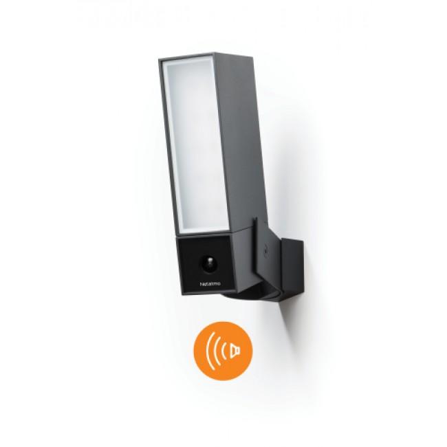 Caméra projecteur extérieure intelligente avec sirène Netatmo LEGRAND