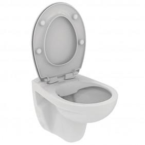Cuvette WC suspendue sans bride Ulysse avec abattant PORCHER