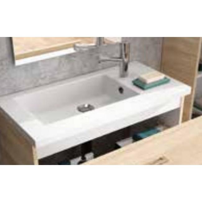 Vasque - résine de synthèse - pour meuble Réducto Néova