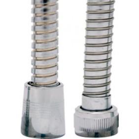 Flexible de douche laiton chromé avec écrou tournant DISFLEX