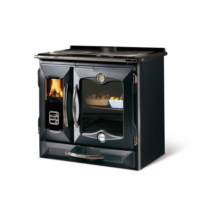 Cuisinière à bois - Suprema - 9 Kw - Four 78 L LA NORDICA EXTRAFLAME