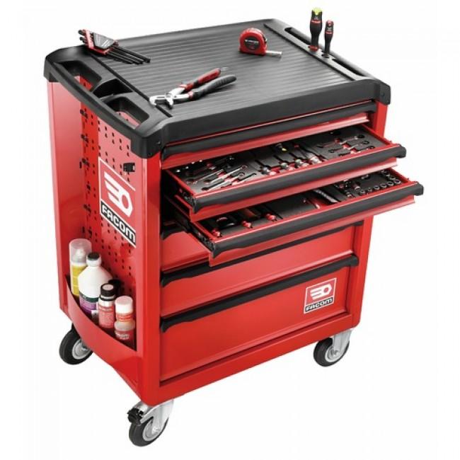 Servante d 39 atelier 6 tiroirs roll6m3pb facom bricozor for Servante cuisine