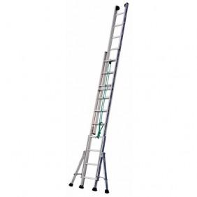 Échelle à coulisse à corde en aluminium - 2 plans - Platinium 300 TUBESCA