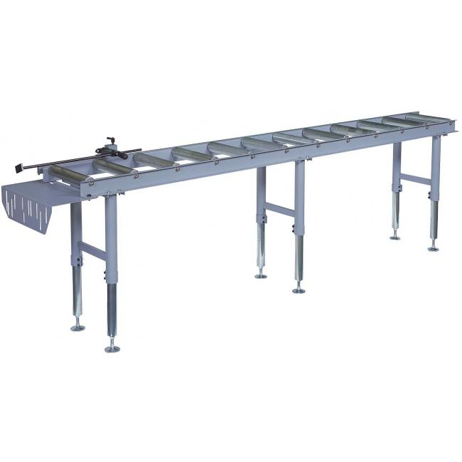 Table de butée manuelle réglable pour scie - longueur 3 mètres - 2020 Promac