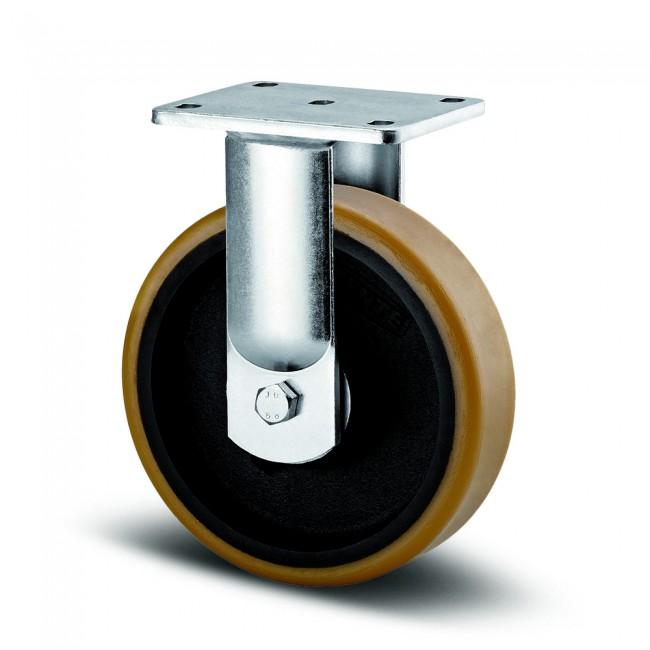 Roulette fixe sur platine - pour charges lourdes - Kappa TENTE
