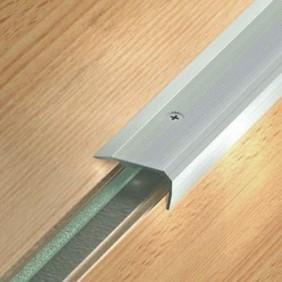 Nez de marche aluminium - pose intérieur et extérieur - Small 43 V DINAC