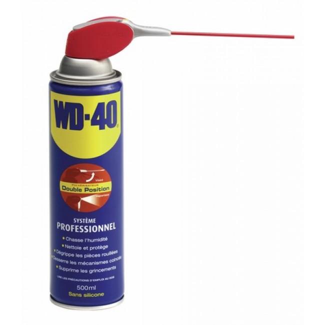 Lubrifiant dégrippant - système pro - 500 ml WD40