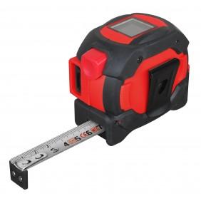 Mètre ruban 5 m - laser 40 m TECHMAN