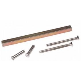 Tige carré pour poignées sur porte 40mm BRICOZOR