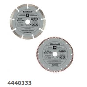 2 disques 230 mm diamantés ceramic et universel EINHELL