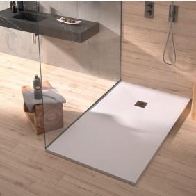 Receveur de douche en resine - PLUS - blanc - différentes dimensions DUPLACH