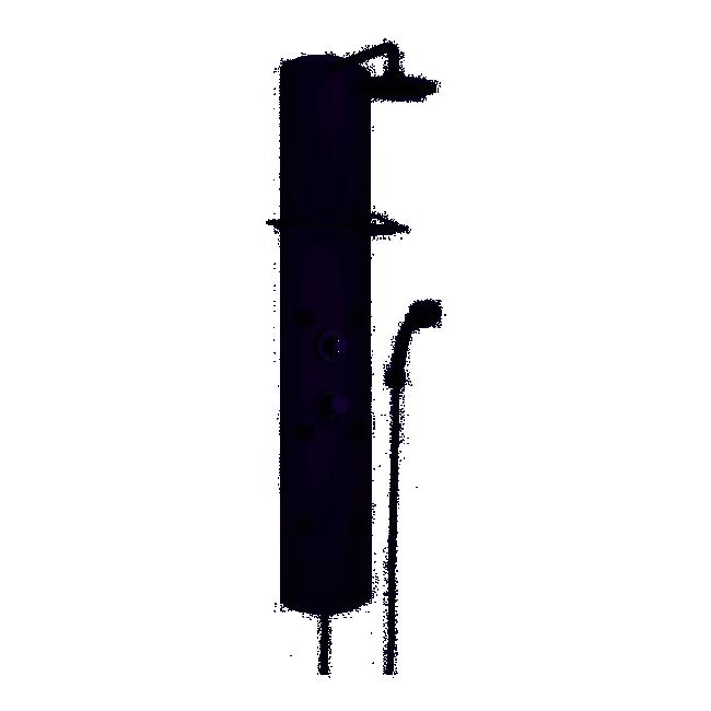 Colonne de douche - Thermostatique - Chromé - Totem VALENTIN