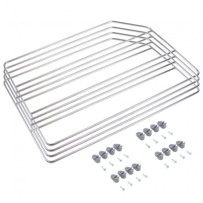 Séparateurs pour meuble-finition chromée EMUCA