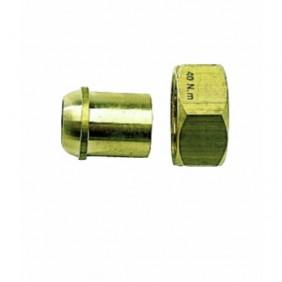 Raccord 2 pièces - gaz - jonction sphéro-conique à braser sur cuivre
