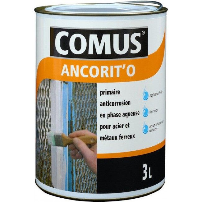 Primaire antirouille en phase aqueuse - Ancorit'o COMUS
