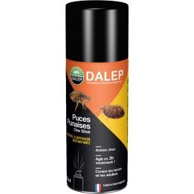 Insecticide – spécial puces et punaises – aérosol à usage unique DALEP