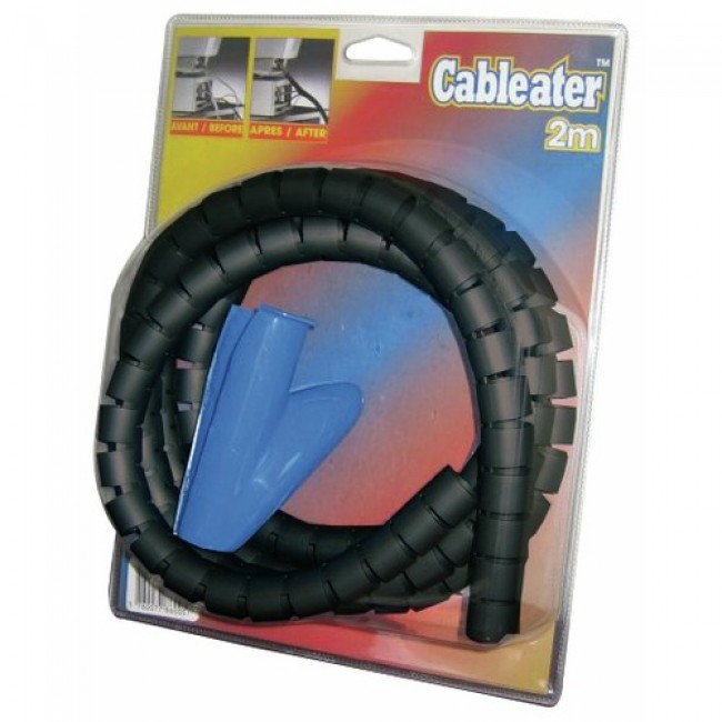 Gaine mange-câble 20 mm - 2 m recoupables - Cableater ANJOS
